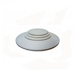 PLAQUE REFRACTAIRE RONDE DIAM 560x17 MM 1340°C
