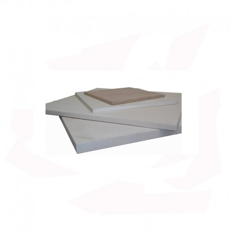 PLAQUE REFRACTAIRE 450x450x17 MM 1340°