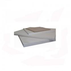 PLAQUE REFRACTAIRE 500x500x20 MM 1340°C