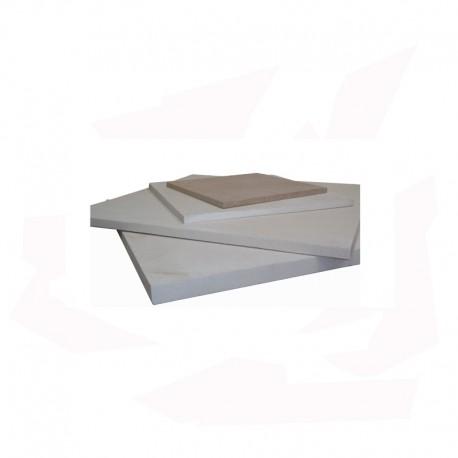 PLAQUE REFRACTAIRE 600x600x20 MM 1340°