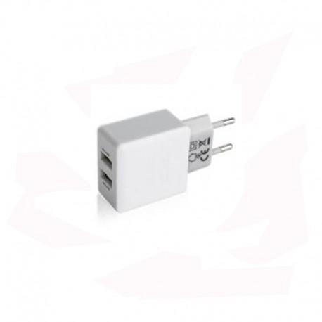 CHARGEUR USB DOUBLE SORTIE POUR MASQUE P3