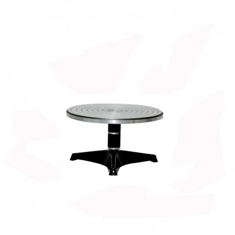 TOURNETTE DE TABLE ALU DIAM 190 H 160 MM