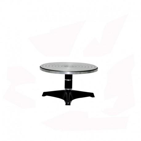 TOURNETTE DE TABLE ALU DIAM 240 H 160 MM