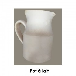 BISCUIT FAIENCE POT A LAIT N°2 1/2 L