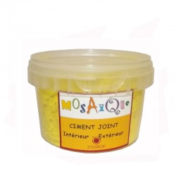 CIMENT JOINT JAUNE D'OR 250G