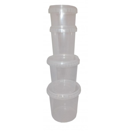 POT PLASTIQUE HERMETIQUE 870 ML