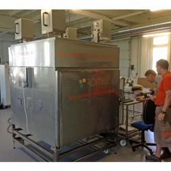 Séchoir micro-onde pour la céramique
