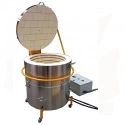 Four électrique PLUTON-6 de 200 litres avec anneaux