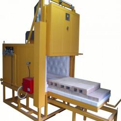 Four de recuit pour le cuivre 500 litres