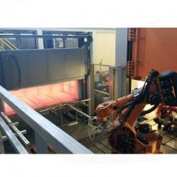 Four de traitement thermique ultra rapide des feuilles d'acier avant emboutissage