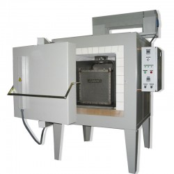 Four de traitement thermique de l'alumimium avec convection forcée 688 litres