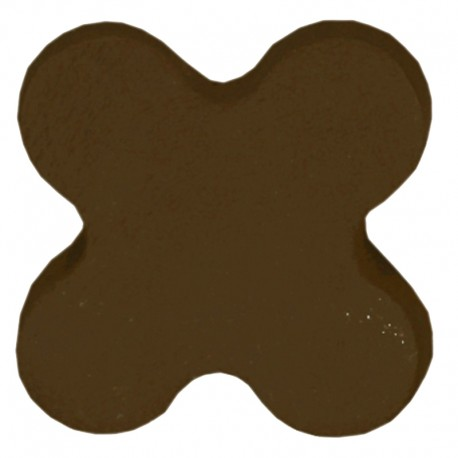 PORCELAINE COLOREE MARRON SAF.MB 1KG