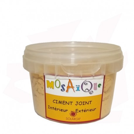 CIMENT JOINT OCRE 250GR