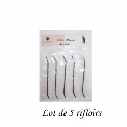 LOT DE 5  RIFLOIRS