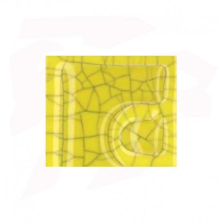 EMAIL 5931 JAUNE CITRON (EX.E-31018/1) CRAQUELE OPAQUE SANS PLOMB