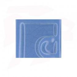 EMAIL 5938 BLEU CIEL (EX.E-31018/8) CRAQUELE OPAQUE SANS PLOMB