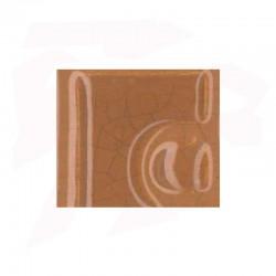 EMAIL 5941 MARRON CHAMEAU (EX.E-31018/11) CRAQUELE OPAQUE SANS PLOMB
