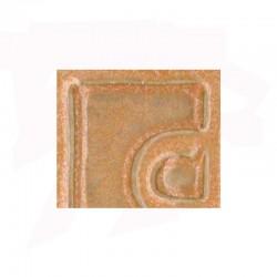 EMAIL GRES/PORCELAINE 0-10589 ROSE PECHE JASPE (EX. E-23010/49) S/PB