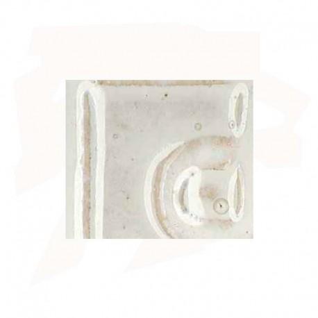 EMAIL GRES/PORCELAINE 0-10218 BLANC NACRE SANS PLOMB