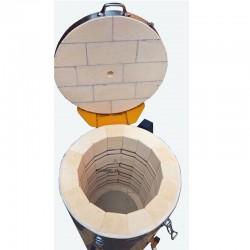 FORNO PLUTON 2S 69L 1320°C POZZETTO