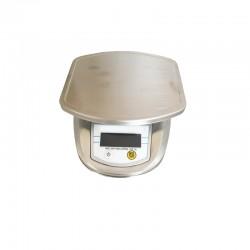 BALANCE LABO. PORT. DIGITALE INOX 2000 G - PREC 0,1 G - ASC2001