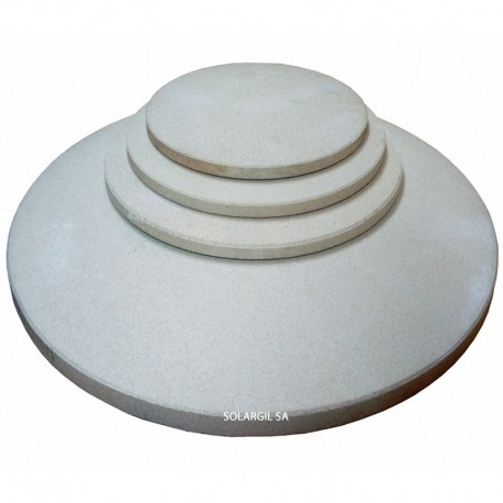 SHELVE REFRACTORY FOR RAKU KILN ROUND DIAM 396X15 MM 1260°