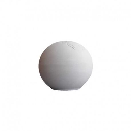 BISCUIT FAIENCE MUG CLASSIQUE DIAM. 120 x H. 110 MM