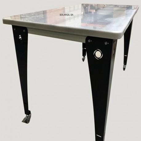 TABLE PREPARATION MARBRE 1500 X 800 X H 850 MM