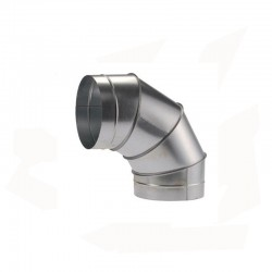 COUDE INOX A 90°C POUR CABINE CPG ET CPA