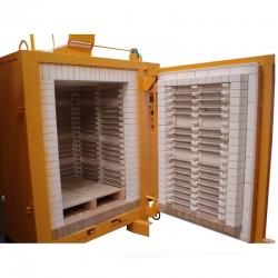 FOUR ELECTRIQUE HCRS DELTA BRIQUES 1000 L 1320°C