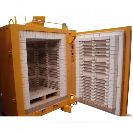 FOUR ELECTRIQUE HCRS DELTA BRIQUES 1500 L 1320°C