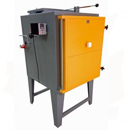 FOUR GAZ HGR-TI-EKO-185 BRIQUES 185 L 1320°C