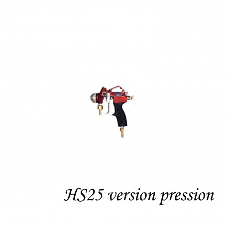 PISTOLET D'EMAILLAGE HS-25 PRESSION